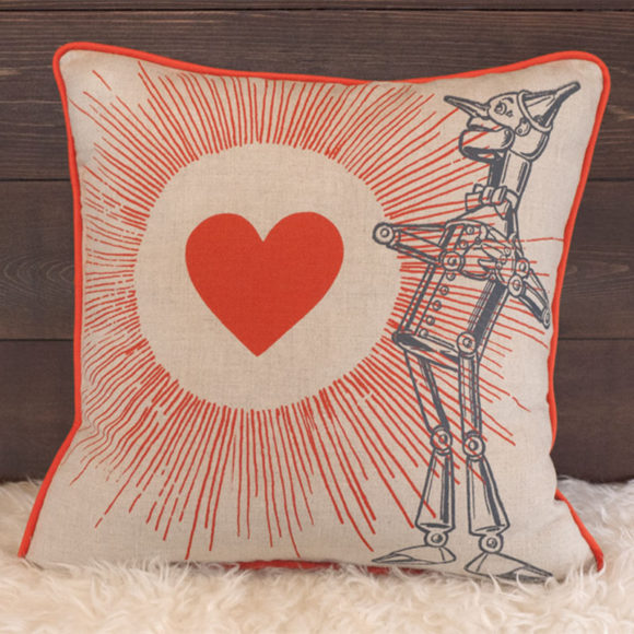 Tin Man Pillow - Front