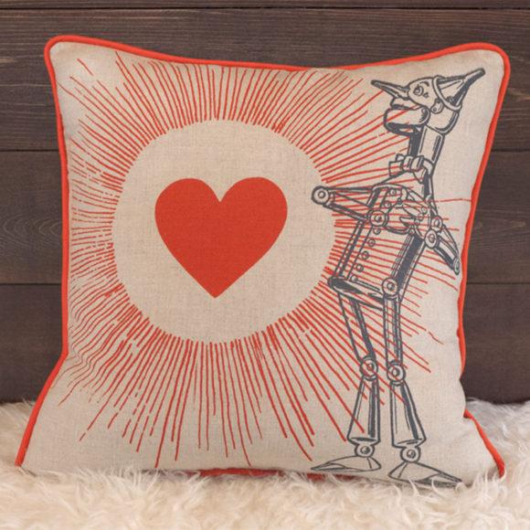 Tin Man Pillow - Front