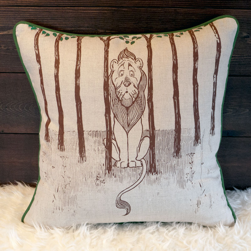 Cowardly Lion Pillow