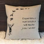 Scarecrow Pillow - Back