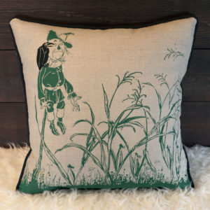 Scarecrow Pillow - Front