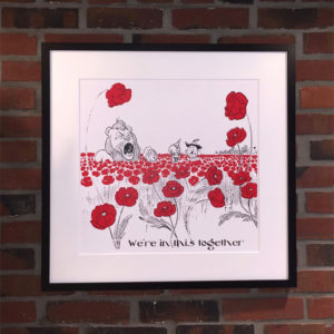 Wizard of Oz Poppy Field Print