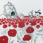 Wizard of Oz Poppy Field Print