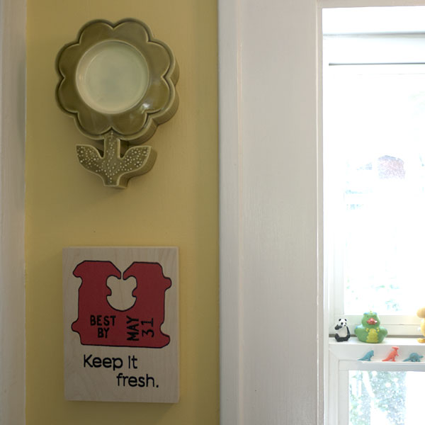 Keep It Fresh - Wood Panel