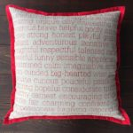 Inspirational Pillows - Qualities - by Suzanne Harrison Home