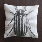 June Bug Beetle Pillow