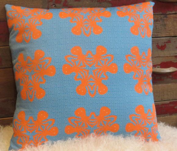 Octoflake Pillow