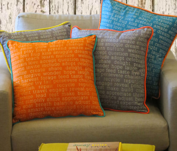 Words to Live By Pillows - Original