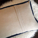 Inspirational Pillows - Actions - Back Side - by Suzanne Harrison Home
