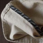 Linen Travel Laundry Bag Interior